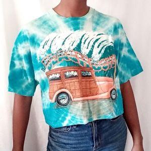 BEACHBOYS | '94 vintage blue tye dye tee 633